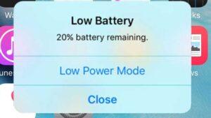 مصرف زیاد باتری