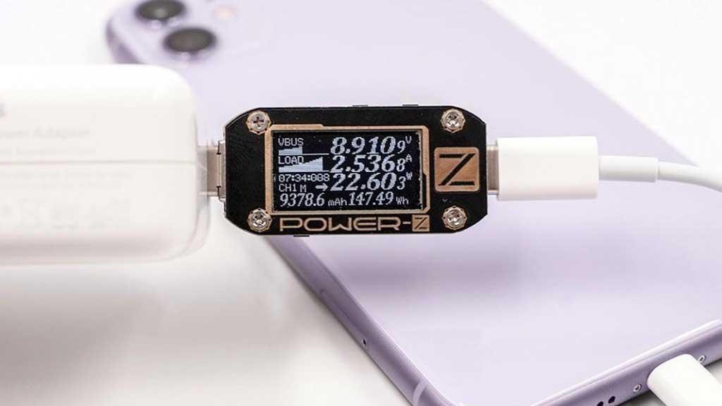 شارژ صحیح گوشی با استفاده از تستر شارژر