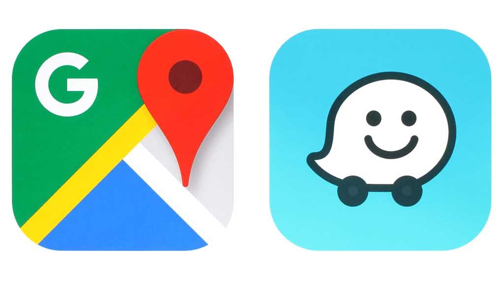 گوگل مپ و Waze