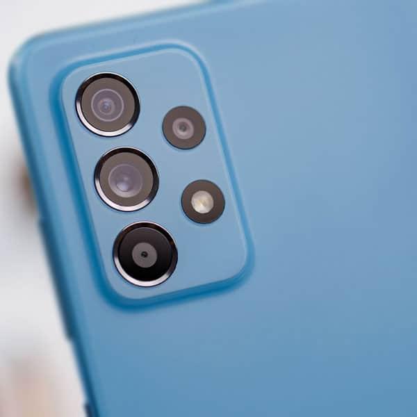 شیشه دوربین Galaxy A52
