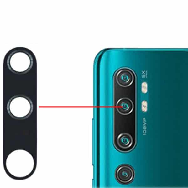شیشه دوربین Xiaomi Mi Note 10 Pro